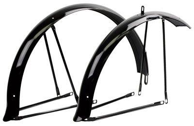 Sunlite Cruiser Fenders, Full, Black ()