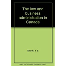 Law and Business Administration in Canada