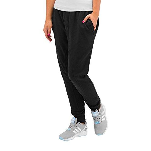 Just Rhyse Mujeres Pantalones / Pantalón deportivo Basic Anti Fit negro