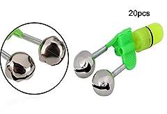 Item: Fishing Bells Alarm Battery:2 x AG3/LR41 button batteries Package Included: 20 x Fishing Bells Alarm