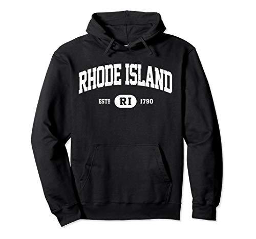 Rhode Island Sweatshirt Retro Vintage Rhode Island Hoodie ()