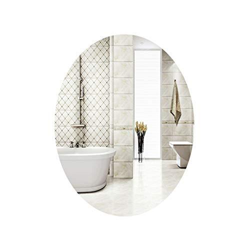 NYDZDM Bathroom Mirror Wall Mounted Vanity Mirror Washbasin Mirror Wall Mounted Beauty Salon Mirror (Size : 45cmX60cm)