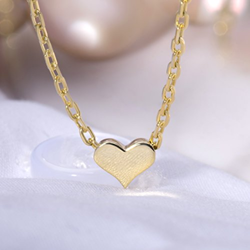 SLeaf-Tiny-Heart-Necklace-Sterling-Silver-Delicate-Love-Heart-Collar-Necklace-Dainty-Necklace