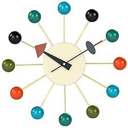 Telechron Atomic Ball Wall Clock, Multi