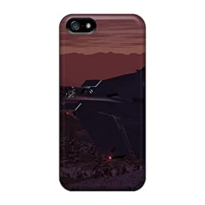 New Fashionable ConnieJCole AwLVCvH4293FOLix Cover Case Specially Made For Iphone 5/5s(tornado In The Rockies)