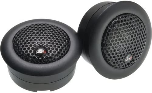 Powerbass 3XL-2S 1-1//4 Competition Grade Pure Silk Dome Tweeter