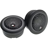 Powerbass S1S 1-Inch Silk Dome Tweeters