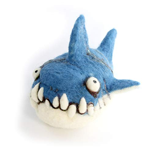 Woolbuddy Needle Felting Kit Shark Arts and Crafts Wool Kit for Family Projects Fun Easy for Beginners