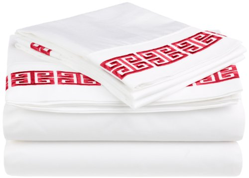 red and white sheets - 7