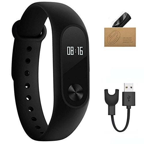 Xiaomi Mi Band 2 With OLED Display Heart Rate Monitor Function Waterproof Fitness Tracker