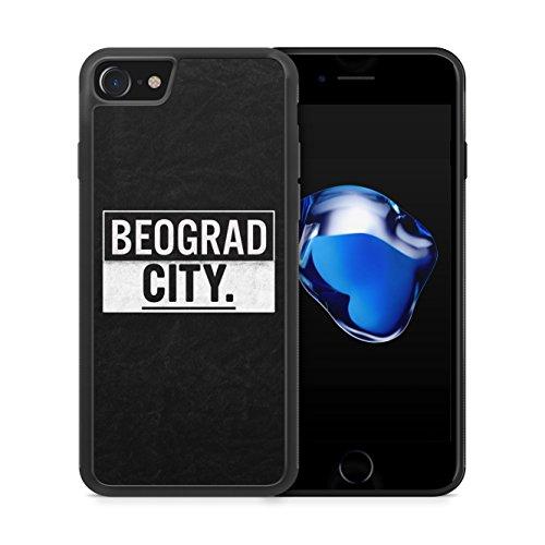 BEOGRAD City iPhone 7 SILIKON TPU Hülle Cover Case Schale Serbien Srbija Serbia Belgrad
