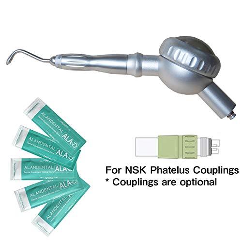 NSK PHATELUS カップリング用歯面清掃用ハンドピース + 5PCSデンタルフロス   B07QFQRW31