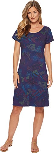 Sadie Clothing - Fresh Produce Women's Bright Botanical Sadie Dress Moonlight Blue X-Small