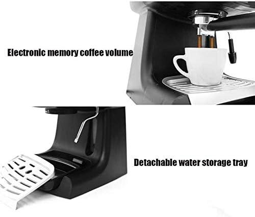 Café Espresso Maker ménage 220 V 850W Machine à café Italie Fancy café Making Machine 1.2L 5-8 Coupes KNDTA