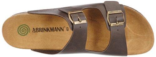 Dr. Brinkmann Mens 600275_Herren_Synthetik Mules Brown bpSdxZz8kW