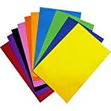 Craftdev Eva Foam Sheet 10 Different Color A4 Size 1mm Thickness For Art & Craft