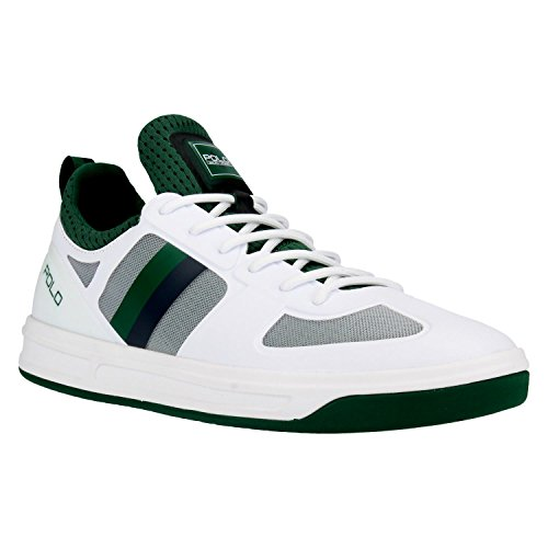 Ralph Lauren Baskets 809-669837-002 COURT200 41 Blanc DO2hZYF7p