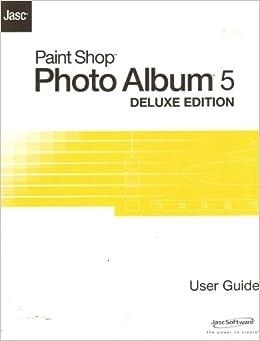 jasc paint shop photo album