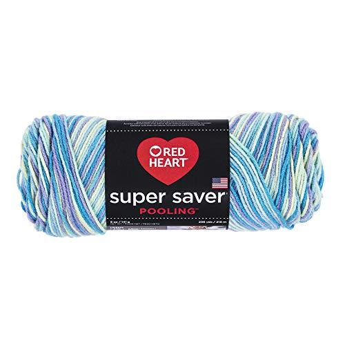 Halloween Yarn Crafts (RED HEART E300P.8532 Super Saver Yarn, Pooling -)