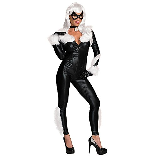 Sexy Dressing Up Costumes (Secret Wishes Women's Marvel Universe Black Cat Costume, Black, Small)