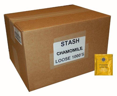 Stash Tea Chamomile Herbal Tea, 1000 Tea Bags in 6.3 Pound Box by Stash Tea