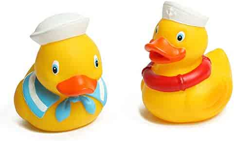 Coltoys 2 Rubber Ducks- Beautiful Sailor Designs. Express delivery.
