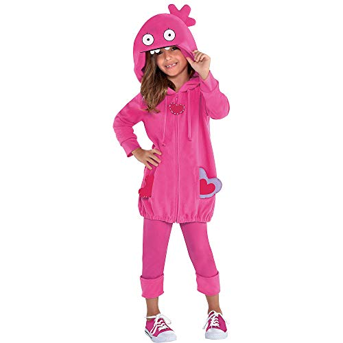Party City UglyDolls Moxy Costume for Children, Size Small, Includes a Hoodie, Leggings, and Heart Accessories