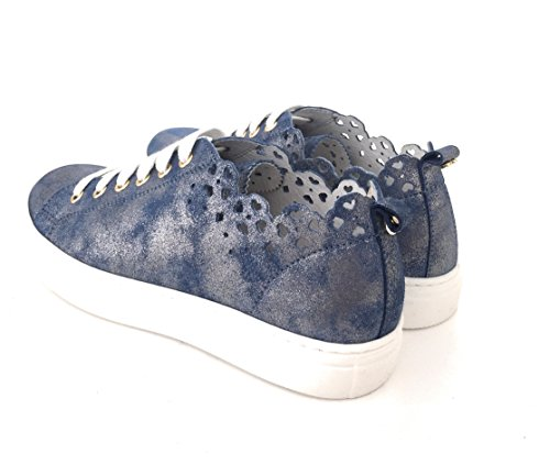 Di Sneakers 36 In Twinset Oceano Vitello Pelle r00tT