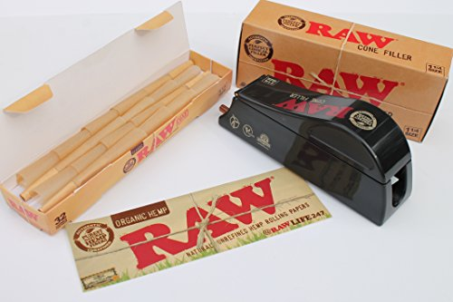 raw king size cones 32 pack - 7