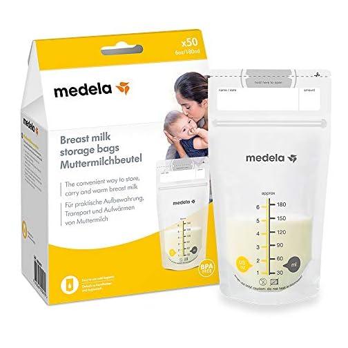 sacchetti per conservare il latte materno medela