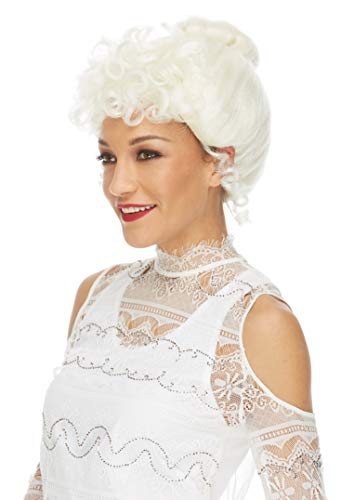 Mrs Claus Wig (Caufield's Mrs. Claus White Wig White Mrs. Claus Wig)