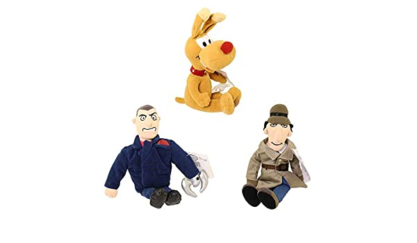 Inspector Gadget Three Piece 9 Plush Beanie Set by Inspector ...