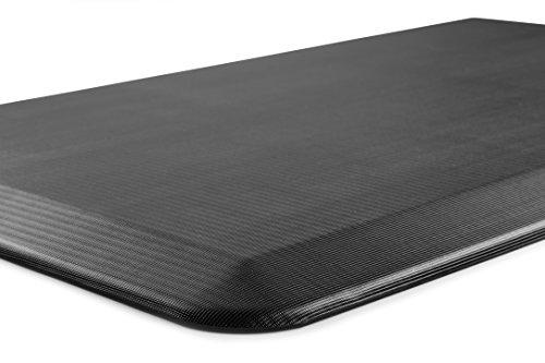 ComfiLife Anti Fatigue Floor Mat – Perfect Kitchen Mat, Standing Desk Mat – Comfort at Home, Office, Garage – Durable – Stain Resistant – Non-Slip Bottom – Black, 20