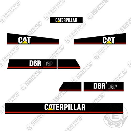 Used, Caterpillar D6R Series 2 Decal Kit Equipment Decals for sale  Delivered anywhere in USA