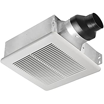 Delta Breez Slm80 Slim 80 Cfm Exhaust Fan Amazon Com