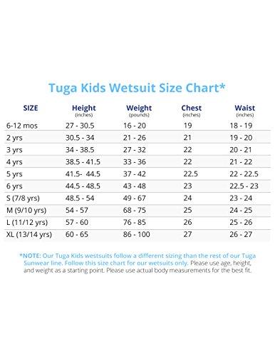 Tuga Boys Thermal Wetsuit (UPF 50+), Royal, S (7/8 yrs) by Tuga Sunwear (Image #3)