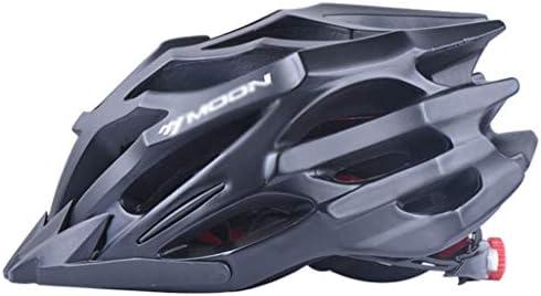 RONGW 自転車 ヘルメット サイクリングヘルメット、自転車用ヘルメット、マウンテンバイク、道路機器、バランス車のヘルメット、ワンピースの男性と女性は、乗車用ヘルメットに同意(カラー:BLACK LINESを) サイズ調整可能 男女兼用