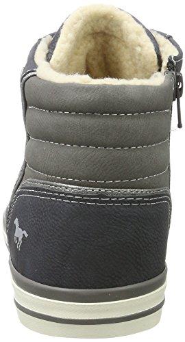 601 800 4096 Blu Alto Uomo Mustang Sneaker a Dunkelblau Collo BqwOwEd5