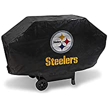 Rico Industries NFL Pittsburgh Steelers Vinyl Padded Deluxe Grill Cover