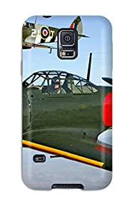 Galaxy Case - Tpu Case Protective For Galaxy S5- Aircraft