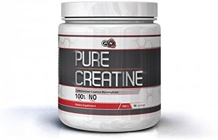 Pure Nutrition CREATIN Monohydrat Pulver|1kg 500g 250g|Hochdosiert 5000mg Höchste German Qualität 100% Rein Neutral...
