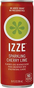 24 Ct. IZZE Cherry Lime Straight Pack 8.4 Ounce