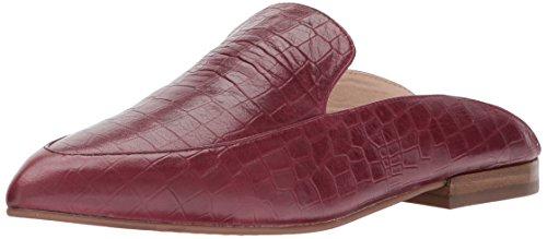 Chinese Laundry Kristin Cavallari Women's Capri Pointed Toe Flat Wine Crocodile Leather