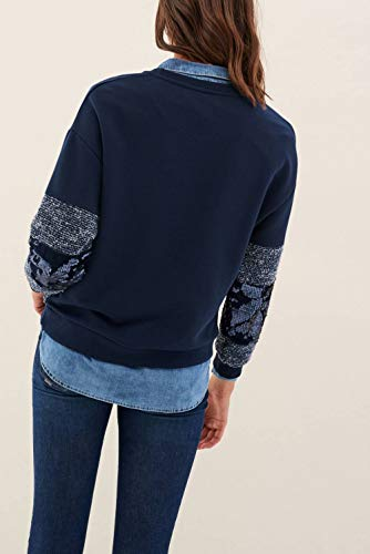 Strass Sweat Con Salsa Con Strass Sweat Strass Con Salsa Salsa Azzurro Azzurro Sweat q6SRn5t