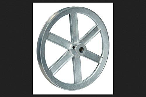10 X 1/2 Inch Die Cast Pulley