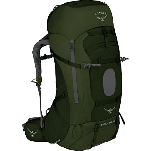 Osprey Packs Osprey Aether Ag 85 Backpack, Adriondack green, Md, Adirondack Green, Medium