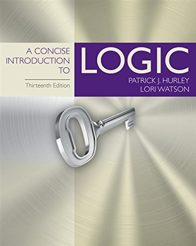 1305958098 - A Concise Introduction to Logic