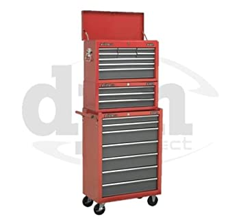 Sealey - Conjunto de Armario, caja de herramientas y ...