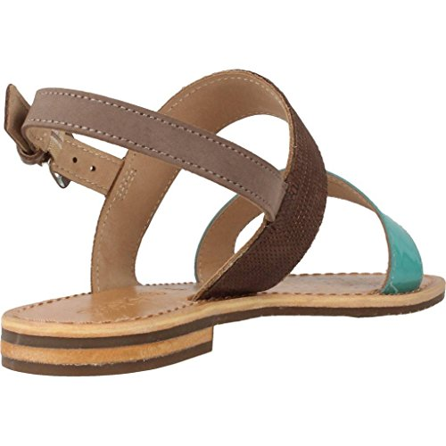for Brown Sandals Colour Sozy Sandals Slippers Women and Women Brown Slippers Brand and for Brown Geox D Model 7SpRTWqdq