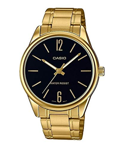 Casio Men's MTPV005G-1B Gold Stainless-Steel Japanese Quartz Fashion Watch